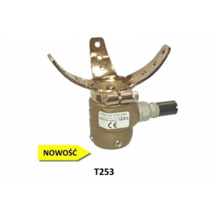 T253 aluminum lock with a sleeve for silicone or gel liners