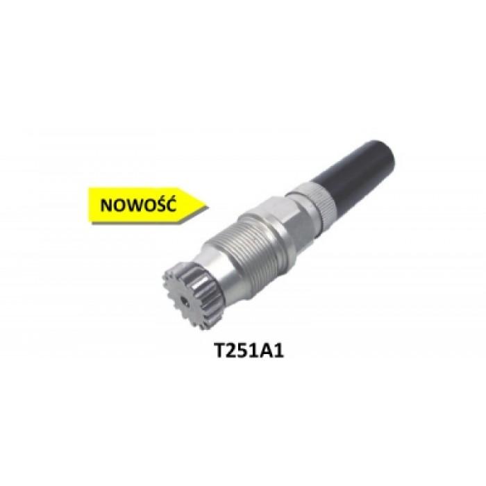 Aluminum ratchet assembly for leg locks T251A1